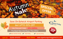Gatwick Airport Parking Special Services