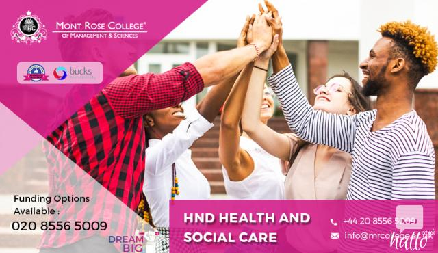 handbook hnd health social care Our applied research tackles real-world issues 80% of our research into allied  health professions and nursing was awarded the highest quality ratings of 4 or .