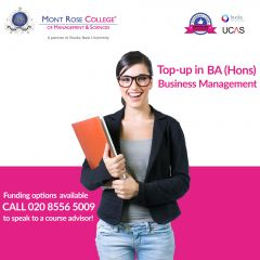 Choose the business management colleges London