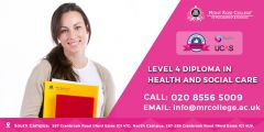 How can I get an level 4 health and social care in UK