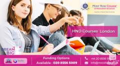 Get the Benefits of HND Courses London