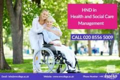 Benefits HND health and social care courses in London
