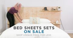 Buy Flat Cotton Jersey Sheet Sets For Hot Weather