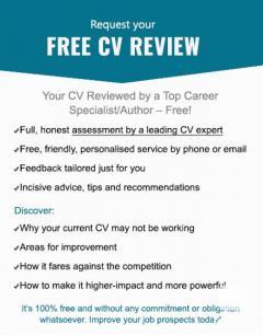 Free CV assessment & free expert CV advice