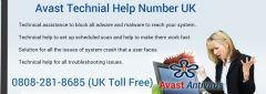 Avast Antivirus Refund Phone Number UK 0-808-281-8685