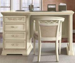 Camel Group Torriani Ivory Finish 3 Drawer Writing Desk