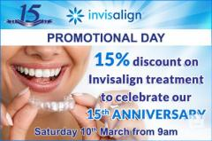Get discount on Invisalign treatment, Chigwell