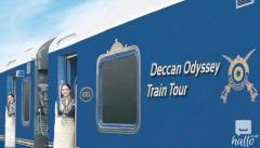 The Deccan Odyssey luxury train in India