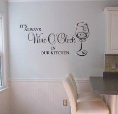 Wine wall decal sticker