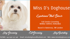 Mobile Dog Grooming - SW London - Excellent Prices