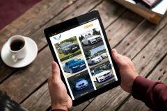 Prestige car rental in UK