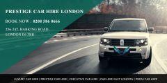 Prestige Car Hire in East London