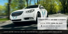Book our Executive Car Hire London