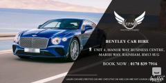 Affordable luxury car hire london