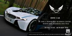 Book our Best BMW Car Hire in Rainham