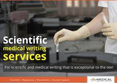 Scientific medical writing services -Manuscript Editing