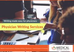 Physician Writing Services For  Medical Professionals