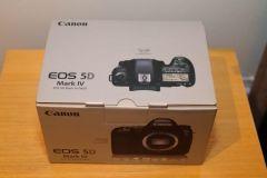 NEW Canon EOS 5D Mark IV 30.4MP 4K DSLR Body