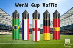 2018 FIFA World Cup Raffle at Vapour Depot
