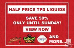 Get 50 OFF on TDP Eliquid
