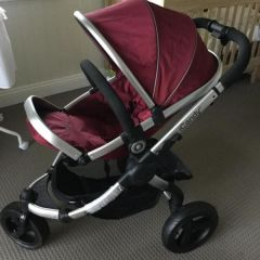 Brand New iCandy Peach Jogger w carrycot & accessories
