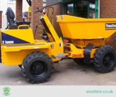 Dumper Hire in High Wycombe for Construction-Eros Hire