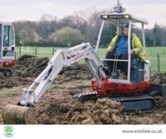 Mini Digger Hire for Construction-Eros Hire