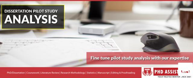 dissertation pilot study Title why do some south african's read tabloid and broadsheet newspapers topic – audience reception audience reception analysis identifies that people use the media in various ways and that it focuses on the audience themselves and how they decide to use a particular text (jensen, 1991) an example of this is the question of why.
