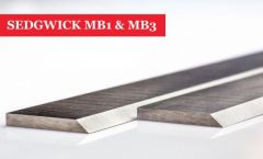 SEDGWICK MB1 & MB3 Planer Blades