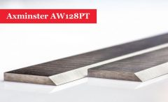 Axminster AW128PT Planer Blades Knives - 1 Pair