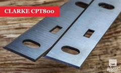 CLARKE CPT800 Planer blades knives - 1 Pair