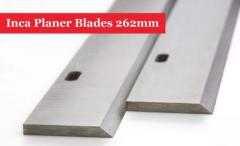 Inca Planer Blades Knives 262Mm Long With 2 Slot