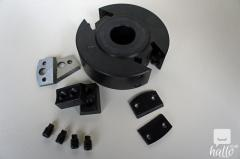 40mm Wide 120mm Dia 114 Bore EURO SpindleCutter Block