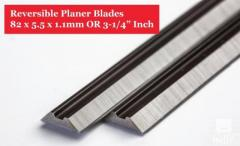 2 x 82mm TCT PLANER BLADES to fit Bosch PHO-1