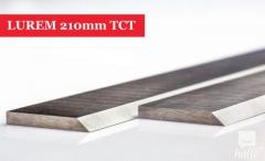 LUREM Planer Blades Knives 210mm Long Tung