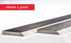 Planer Knives 18mm x 3mm-350mm long x 18mm high x 3mm