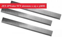 JET JPT260 Carbide TCT PlanerJointer Blades Knives