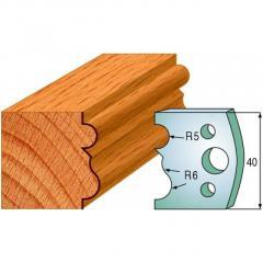 Profile 001 40mm Profile Knives & Limitors Set