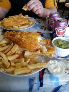 Enjoy With Delicious Fish and Chips in St Ives