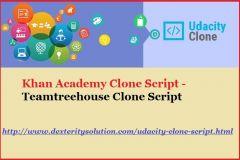 Udacity Script -Teamtreehouse Clone