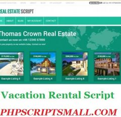PHP Scripts Mall - Vacation Rental Script