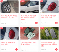 Used Spare Parts for Cars