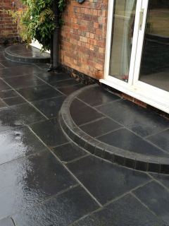 Black Slate Paving By Royale Stones
