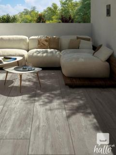 Bianco Slate Effect Outdoor Porcelain Paving Slabs
