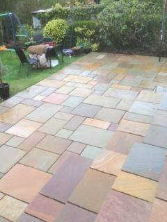 Indian Sandstone Paving, Granite Patio Slabs  Paving