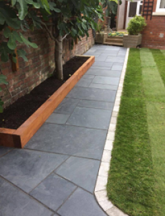 Black Slate Paving Slabs  Royale Stones