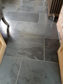 Silver & Black Granite Paving By Royale Stones