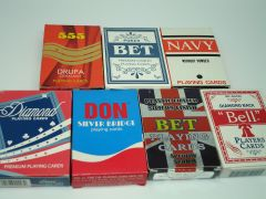 Custom printed playing cards wholesale