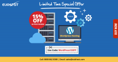 Special Offer on eUKhost WordPress Hosting