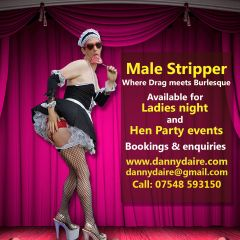 Male stripper for Sheffield Hen Party & Ladies Nights